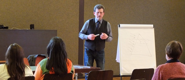 Vortrag von start2dream mit Frank Hoese