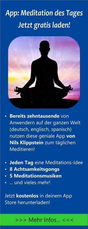 App: Meditation des Tages