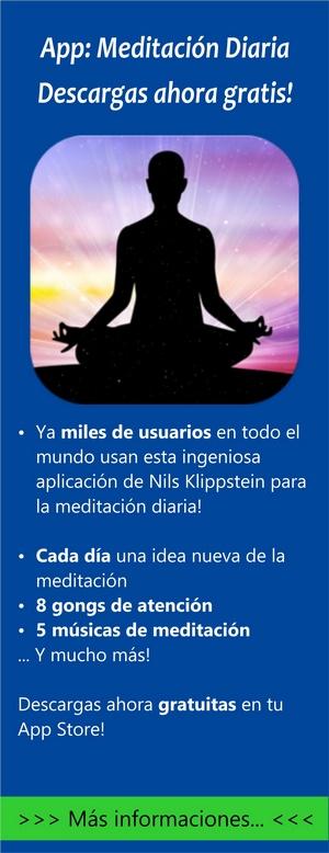 aplicación meditación diaria